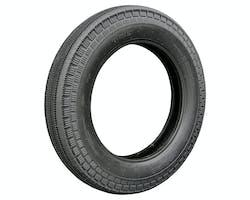 THE DELUXE ブラック 5.00-16タイヤ 72S