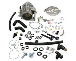 S&S 52mmスロットルボディーキット 06-16y BT