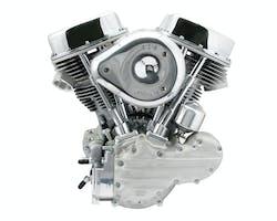 S&S P93 コンプリートエンジン Eキャブ 48-64y シルバー