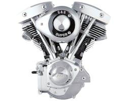 S&S SH93コンプリートエンジン 70-99y ビレットギアカバー